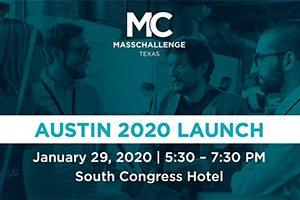 MassChallenge in Texas 2020 launch event