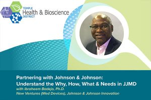 Partnering with J&J: Understand the Why, How, What & Needs in JJMD